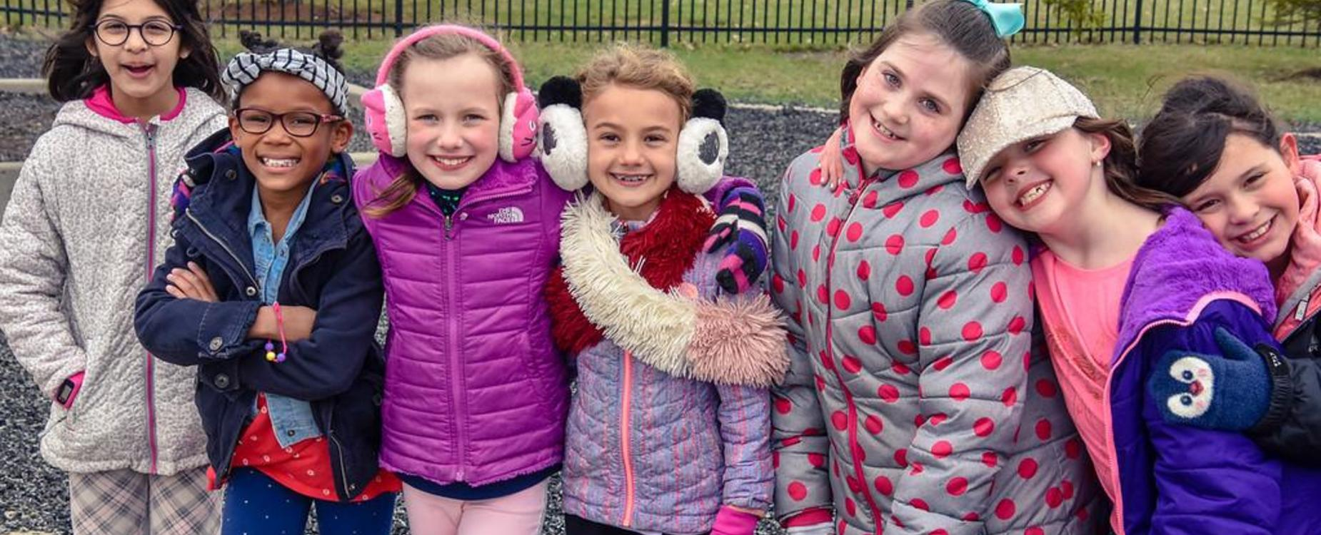 Stonegate students on playground.