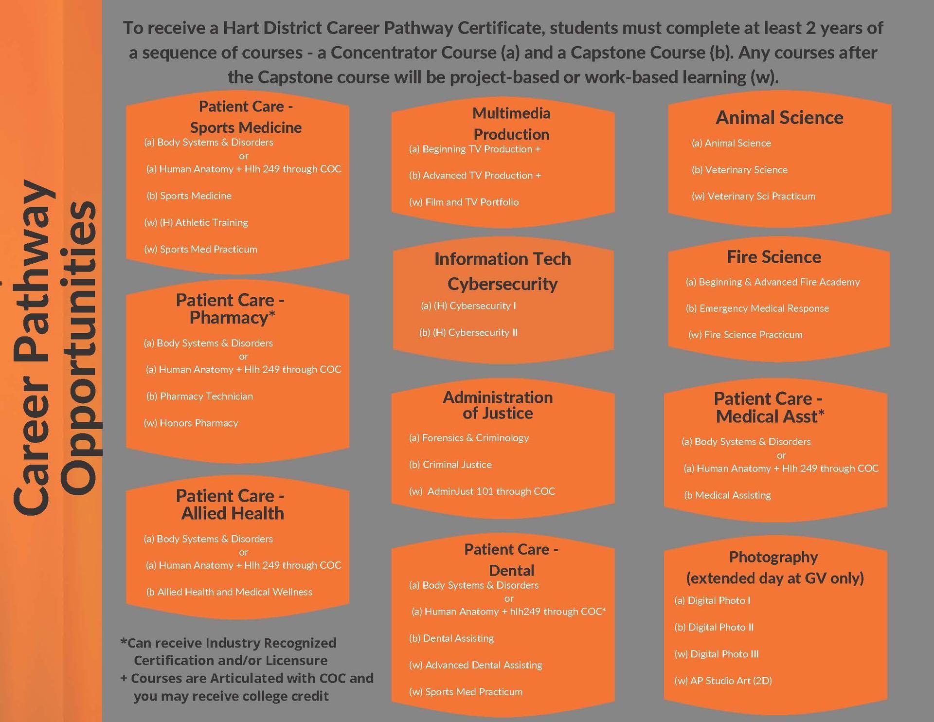 Career Pathway Opportunities