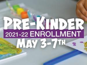 Pre-Kinder enrollment image