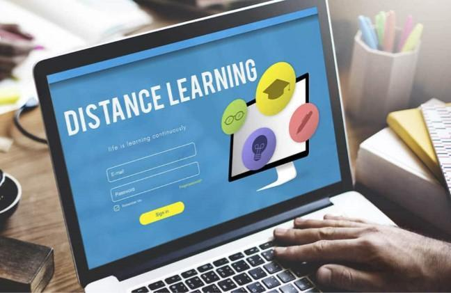 Distance learning chromebook