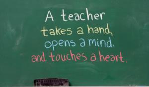 A teacher quote