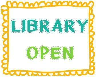 library open sign