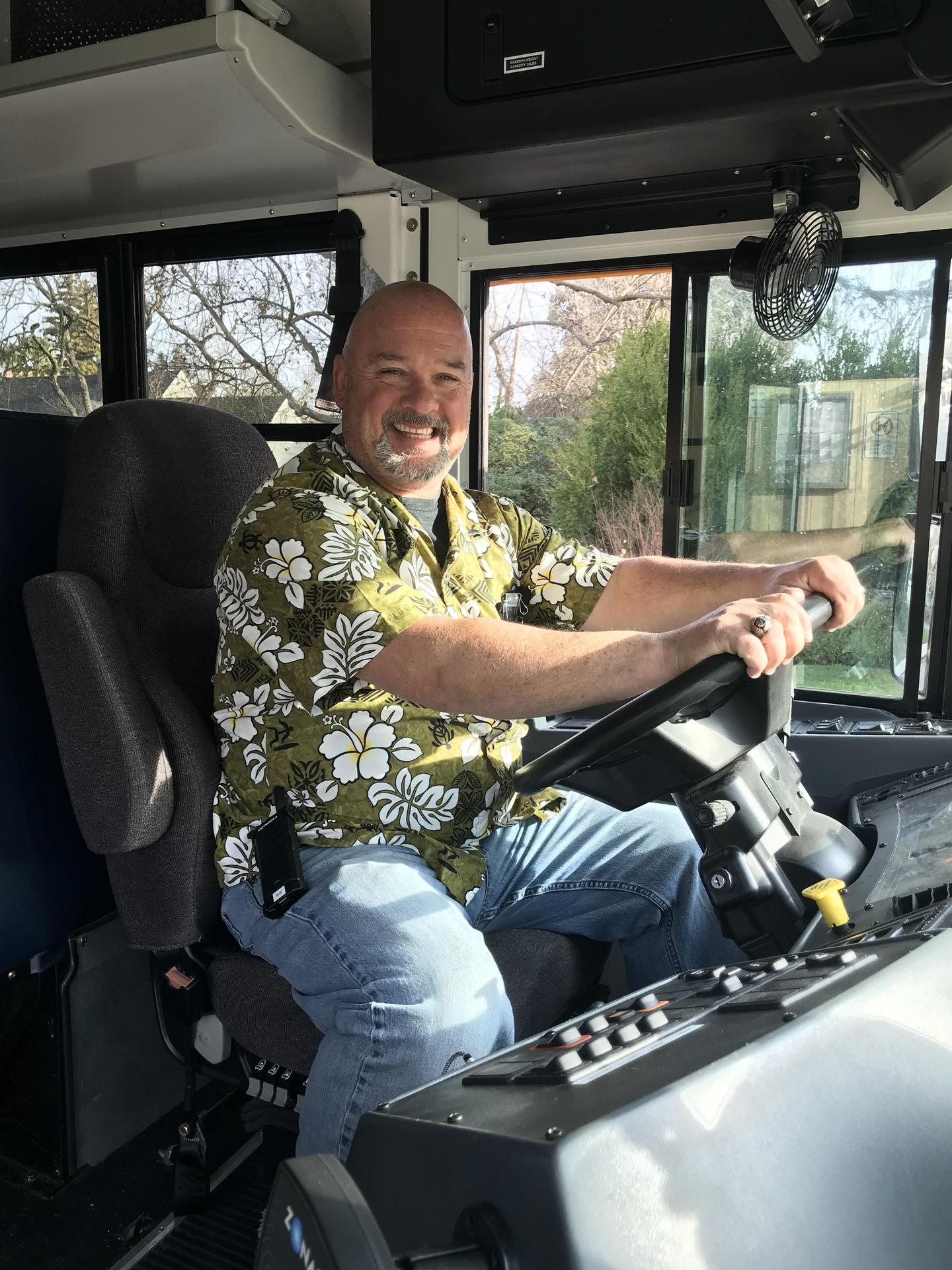 Mr. Tom the bus driver