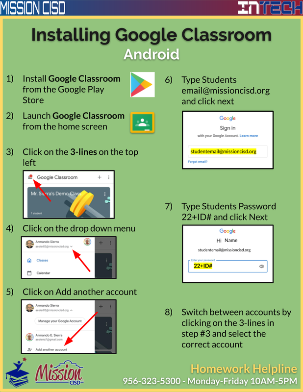 Instructions: How to Download & Install the Google Classroom App! Featured Photo