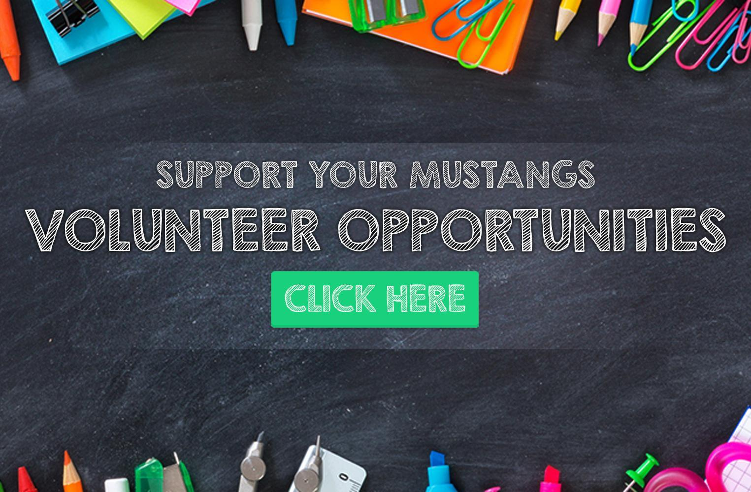 Volunteer Opportunities at Mabel Paine Elementary