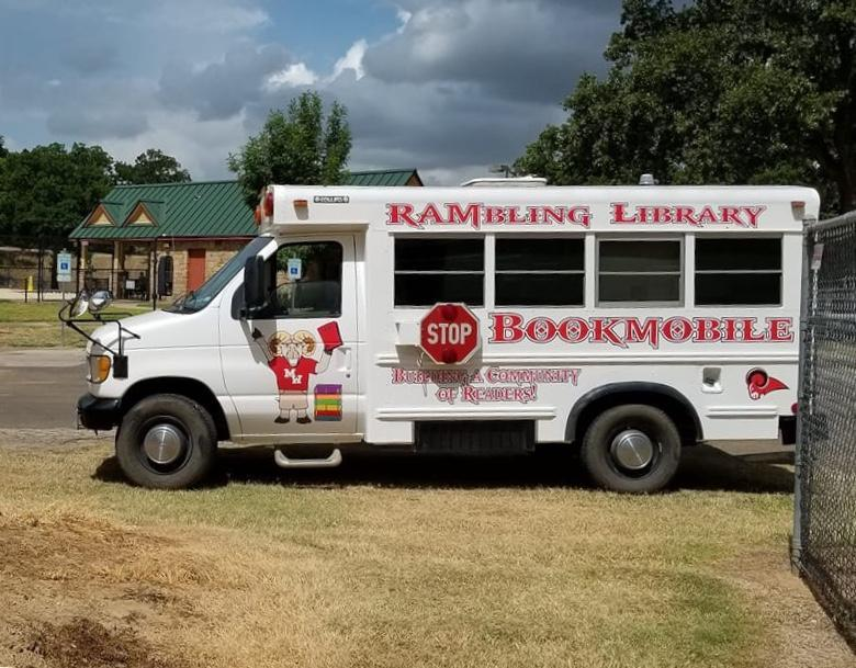 The Rambling Library coming to a location near you!