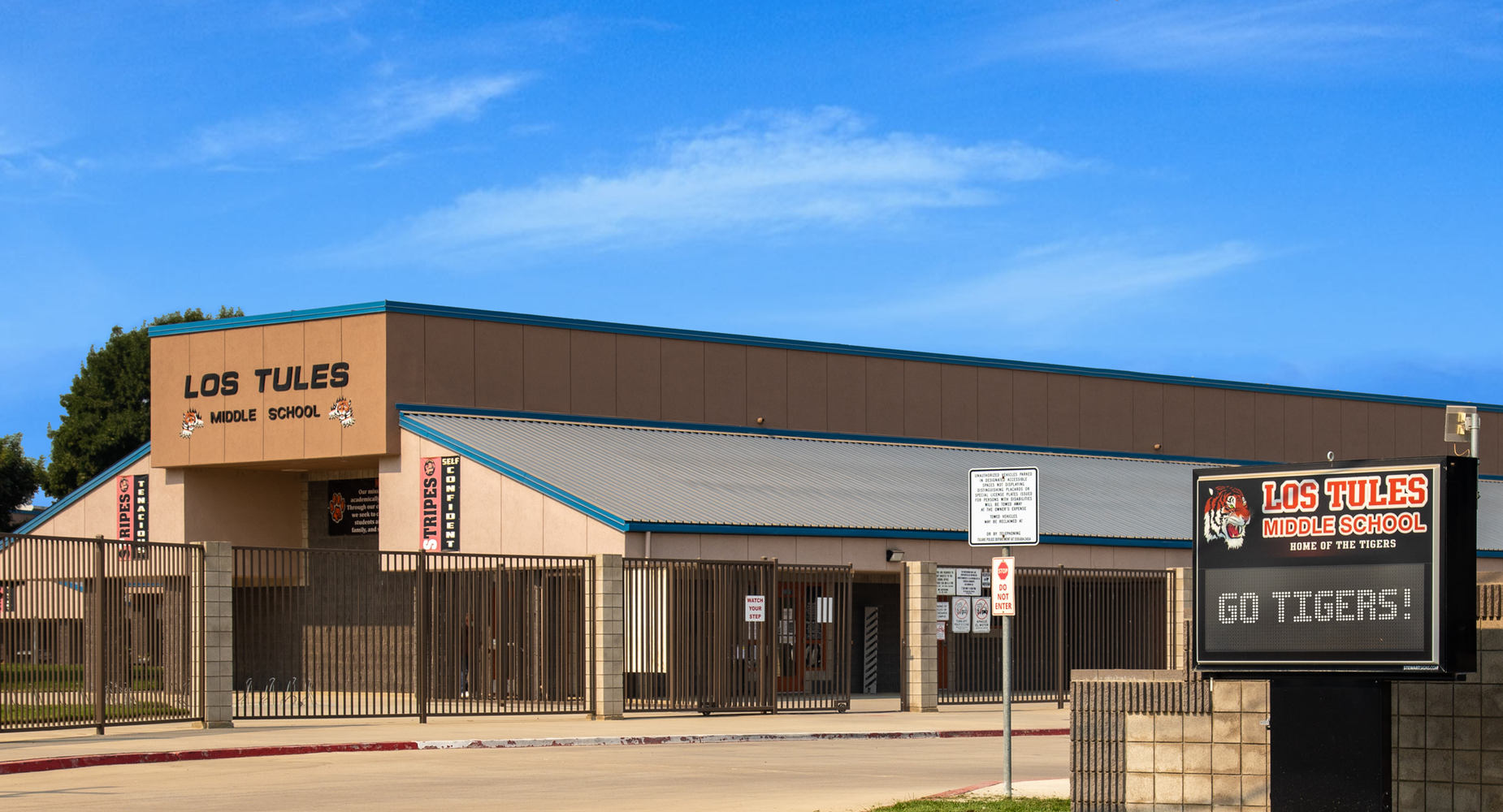 Los Tules Middle School Office Building