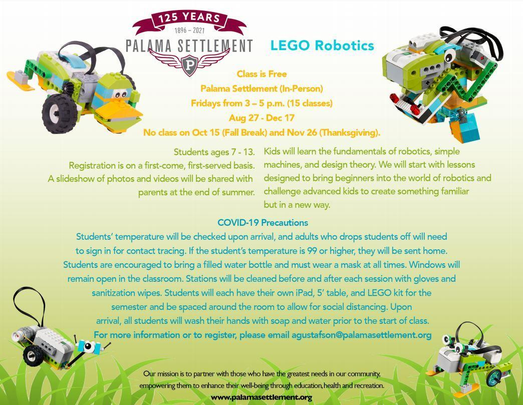 Robotics flier