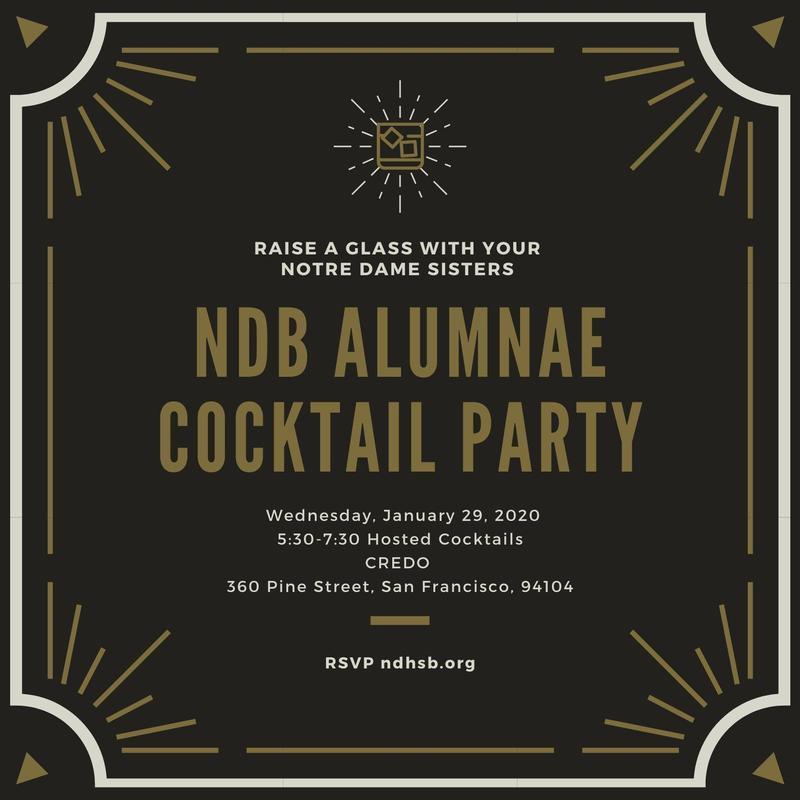 NDB Alumnae Cocktail Party (RSVP) Thumbnail Image
