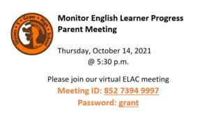 EL Parent Meeting October.PNG