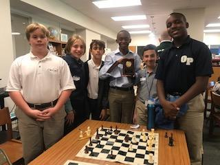 Consortium Chess Team Takes 2nd Place Featured Photo