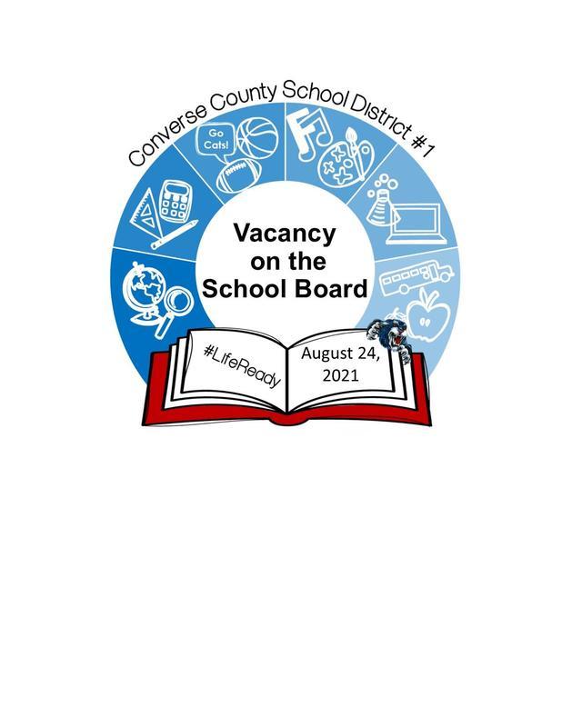 Logo Announcing School Board Vacancy