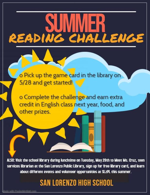 Summer Reading Challenge Featured Photo
