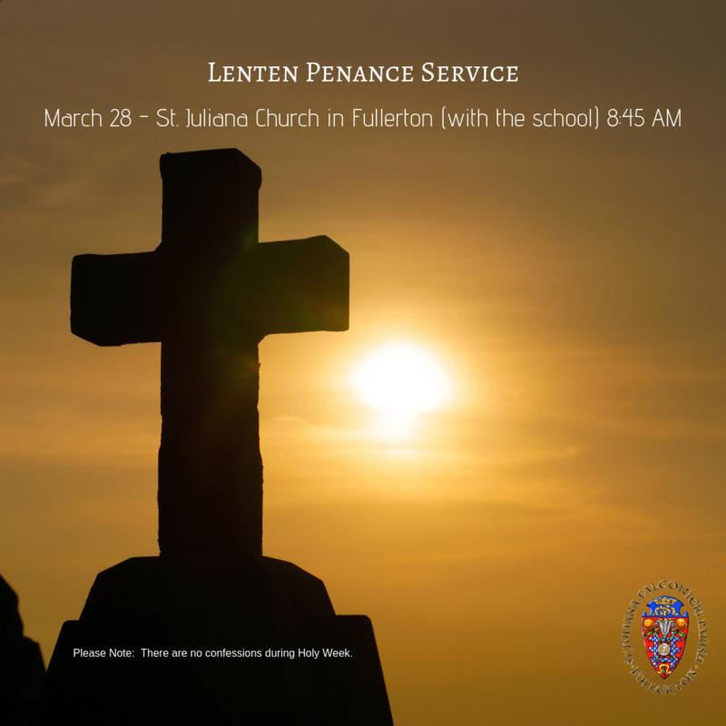 St. Juliana Parish - Penance Service Featured Photo