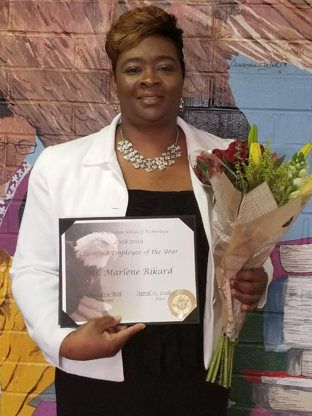 Paraprofessional of the Year - Ms. Rikard