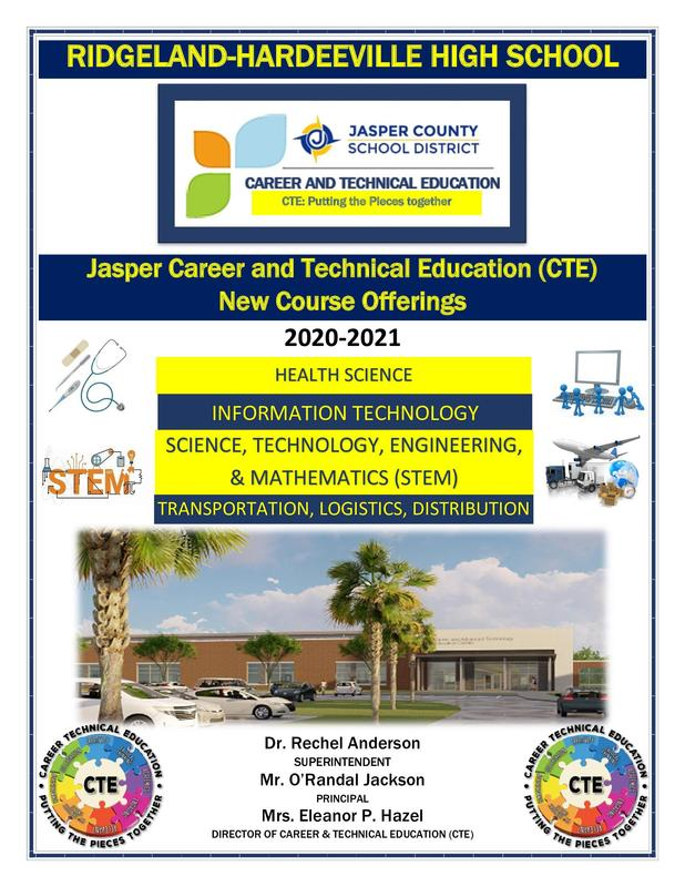 Jasper Career and Technical Education (CTE) New Course Offerings Featured Photo