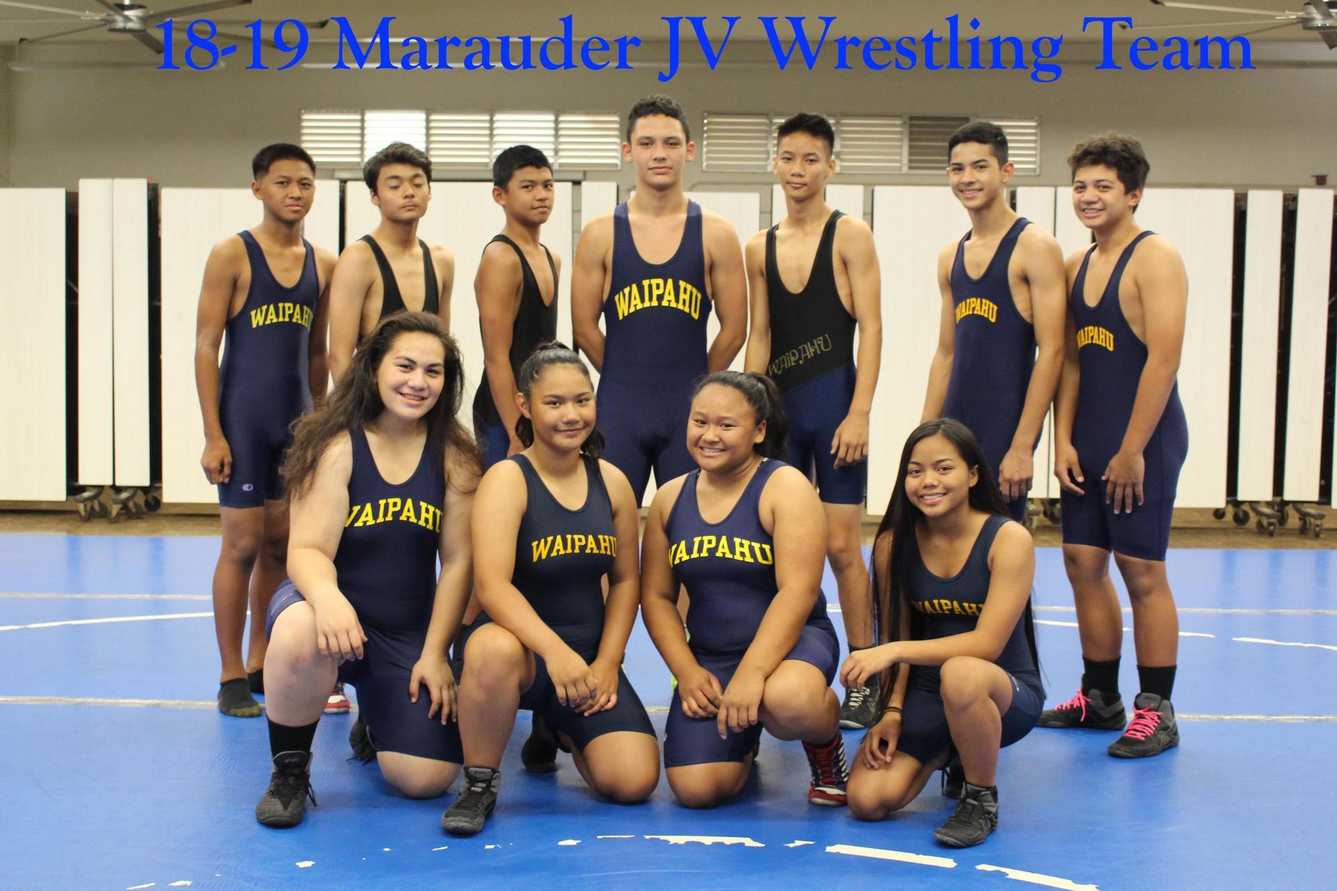 Wrestling JV