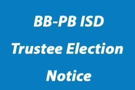 Board Election Change of Filing Location Featured Photo