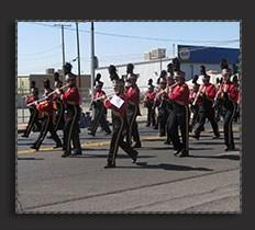Los Tules Marching Band
