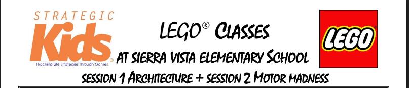 Monday Lego Class
