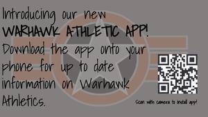 New Warhawk Athletics app
