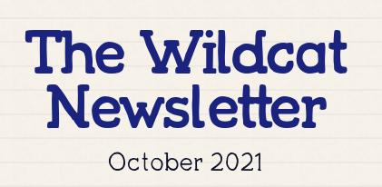 Wildcat Newsletter - October 7, 2021 Featured Photo