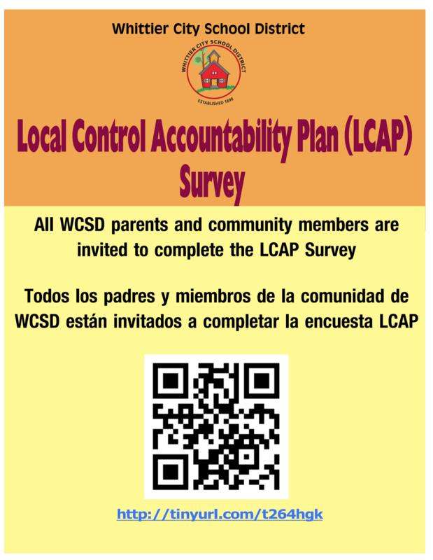 LCAP Parent Survey