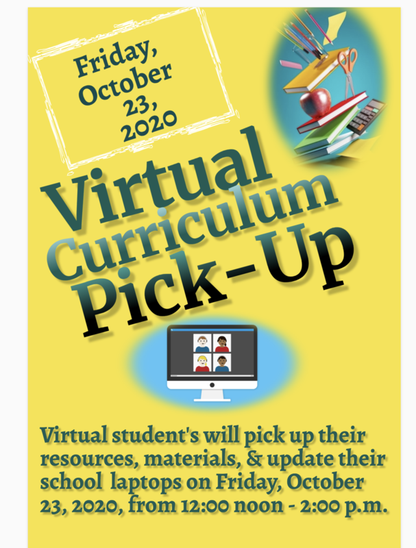 Virtual Curriculum Pickup! Thumbnail Image
