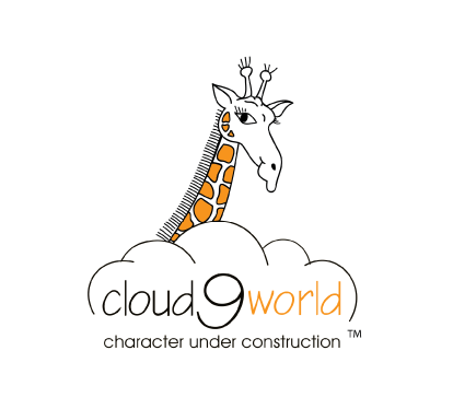 cloud 9 logo with giraffe