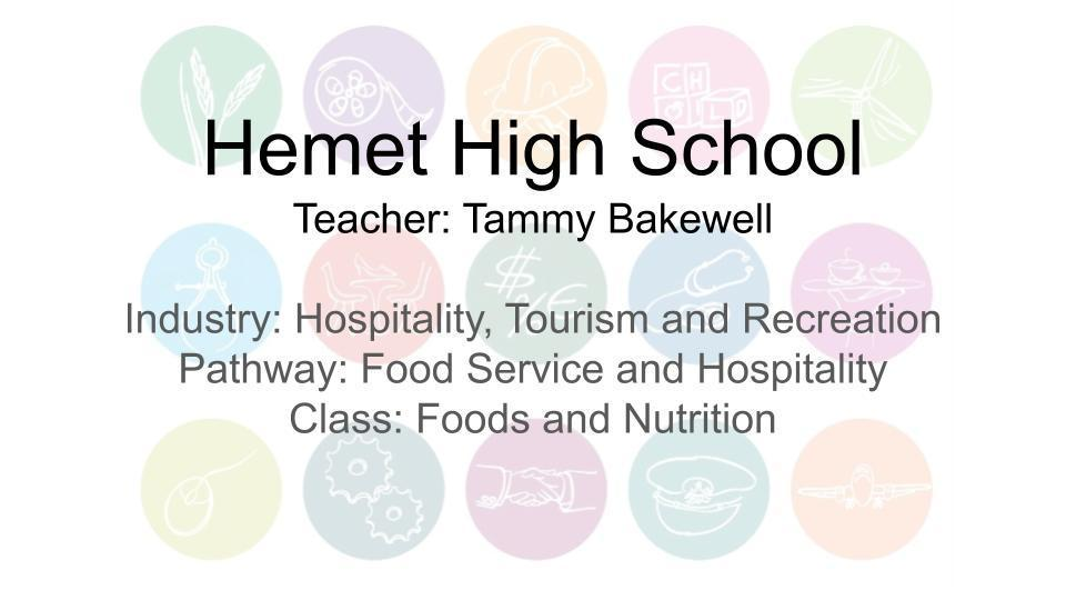 Food Service and Hospitality