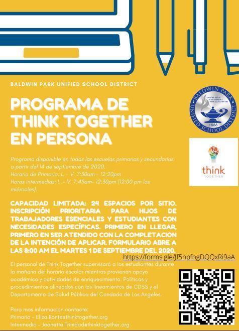 Spanish Think Together
