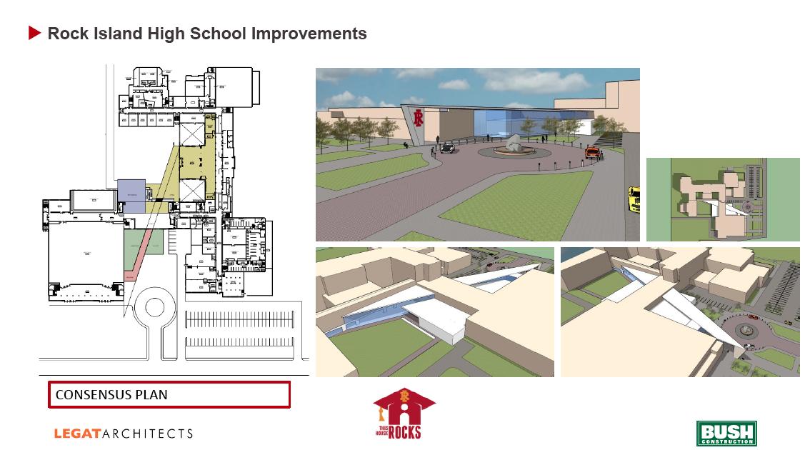 Rock Island High School Consensus Design spec