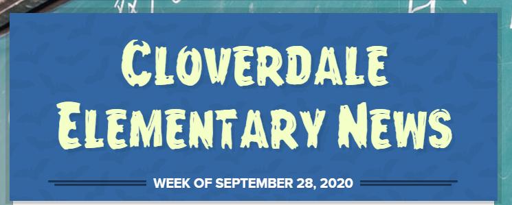 Cloverdale Elementary Newsletter