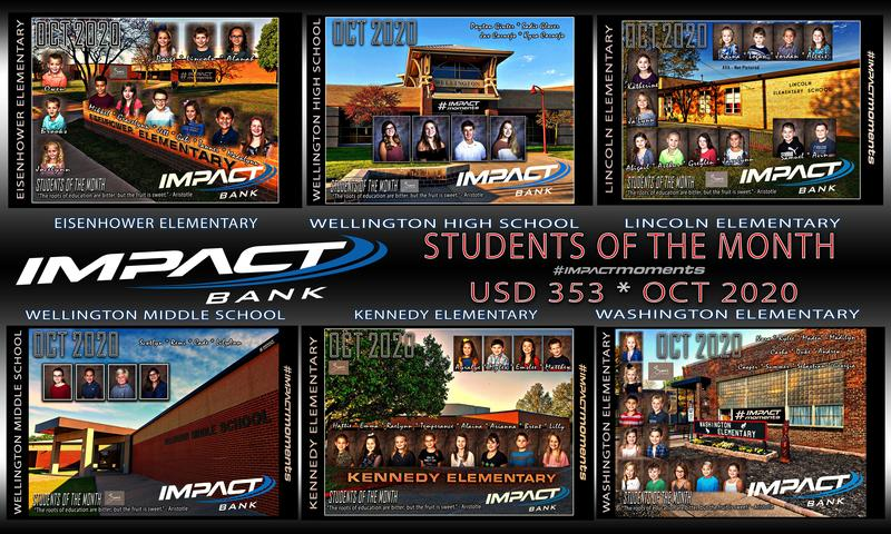 October 2020 Impact Bank Students of the Month