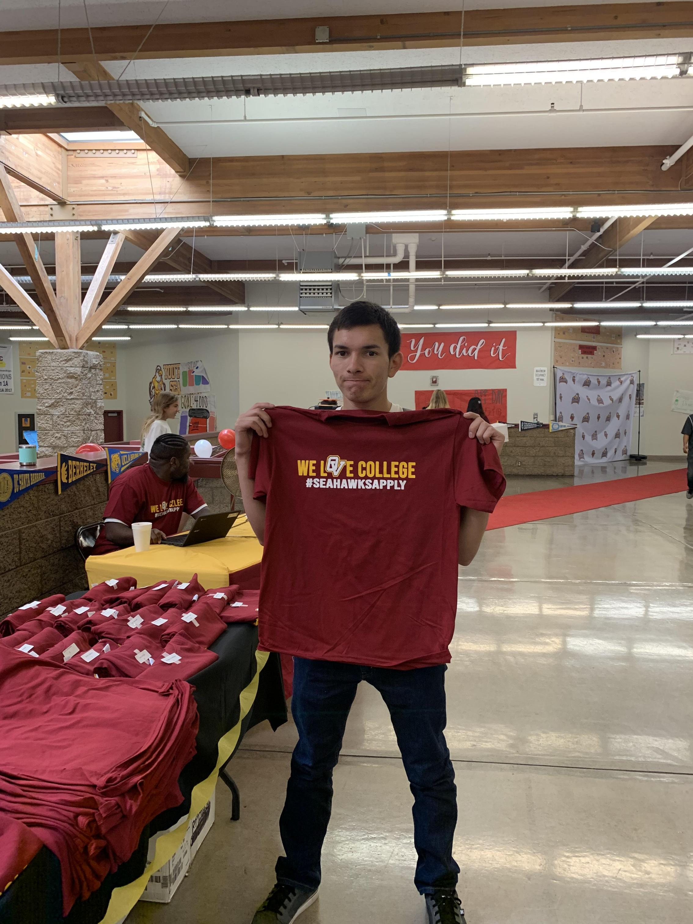 College Application Day Special T-shirts