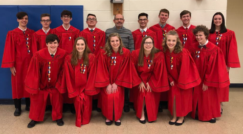 PMEA Chorus students