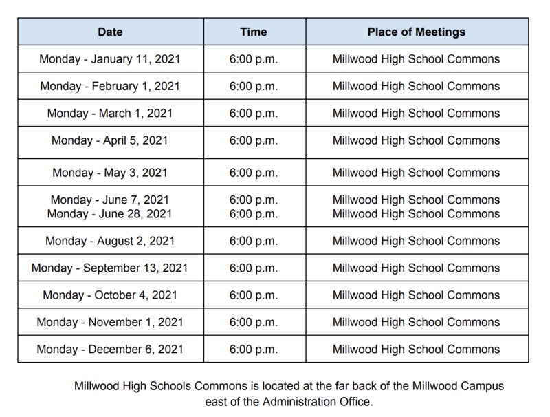 2021 MPS Board of Education Dates Now Available Featured Photo