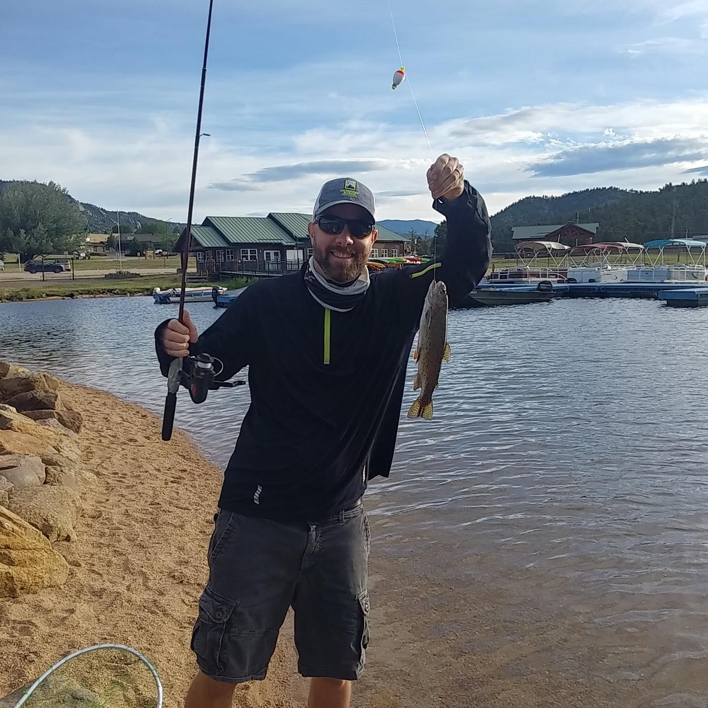 Father's Day fish in Estes Park