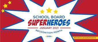 School Board Appreciation Month!
