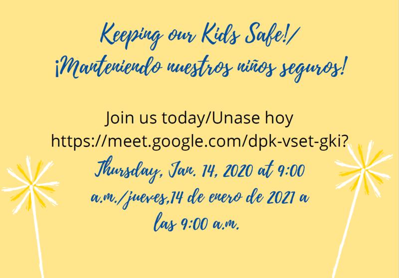 Keeping Kids Safe Virtual Meeting Featured Photo