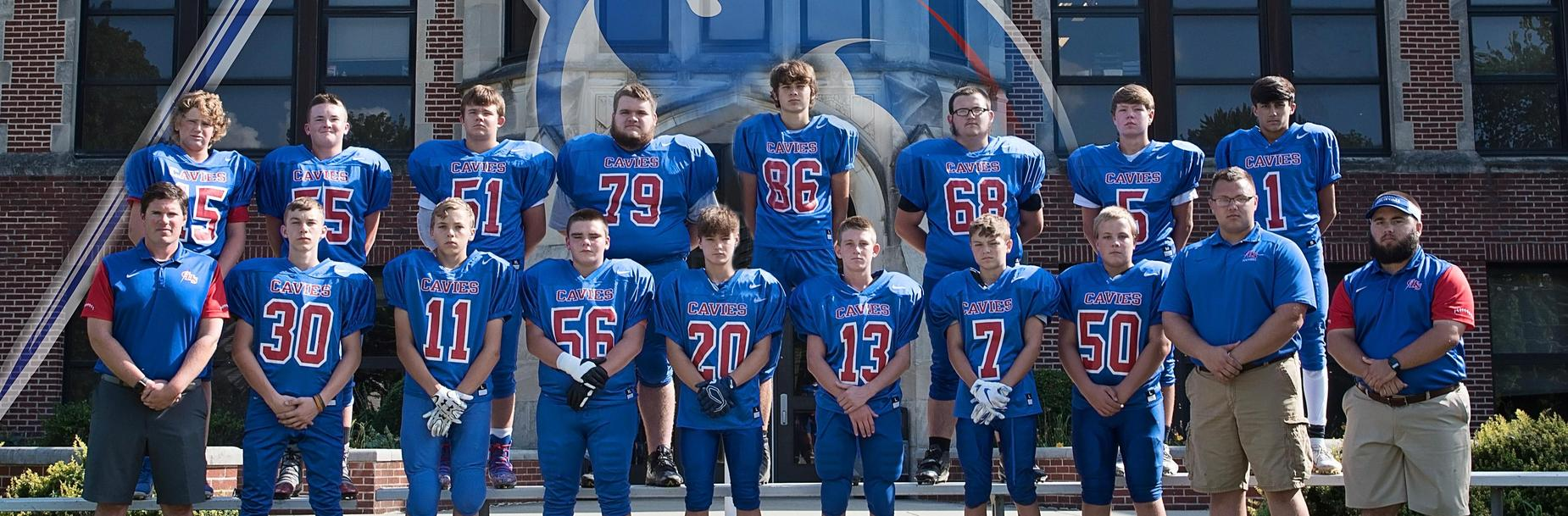 2019-2020 Carlinville High School Freshman Football Team