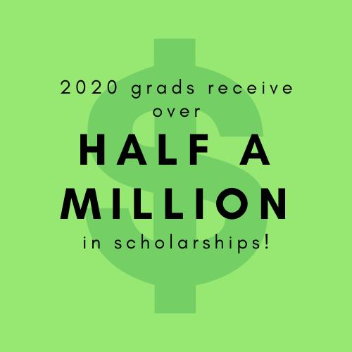 scholarship headline with money sign