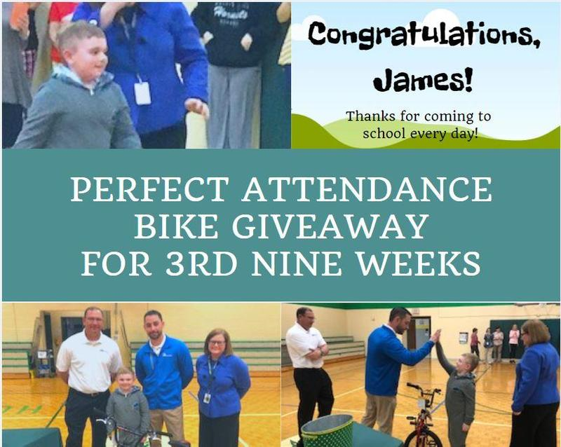 3rd Nine Weeks Bike Giveaway Winner Thumbnail Image
