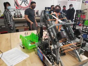 Carl Sandburg VEX Robotics Team rank second and third in state tournament