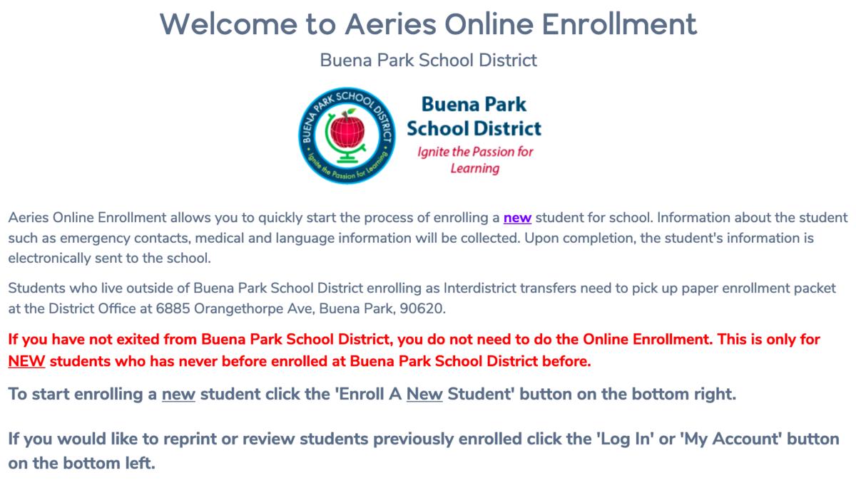 Online Enrollment Image