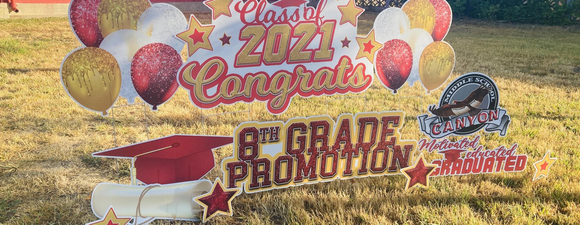 8th Grade Class of 2021
