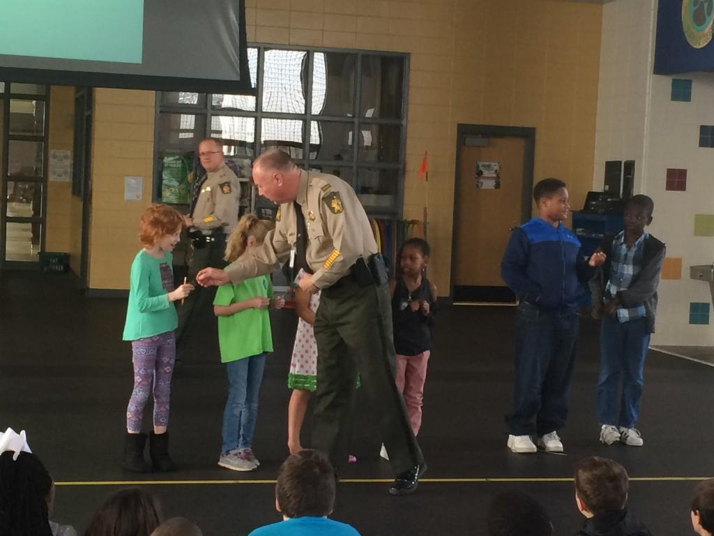 3rd graders learn about bike safety