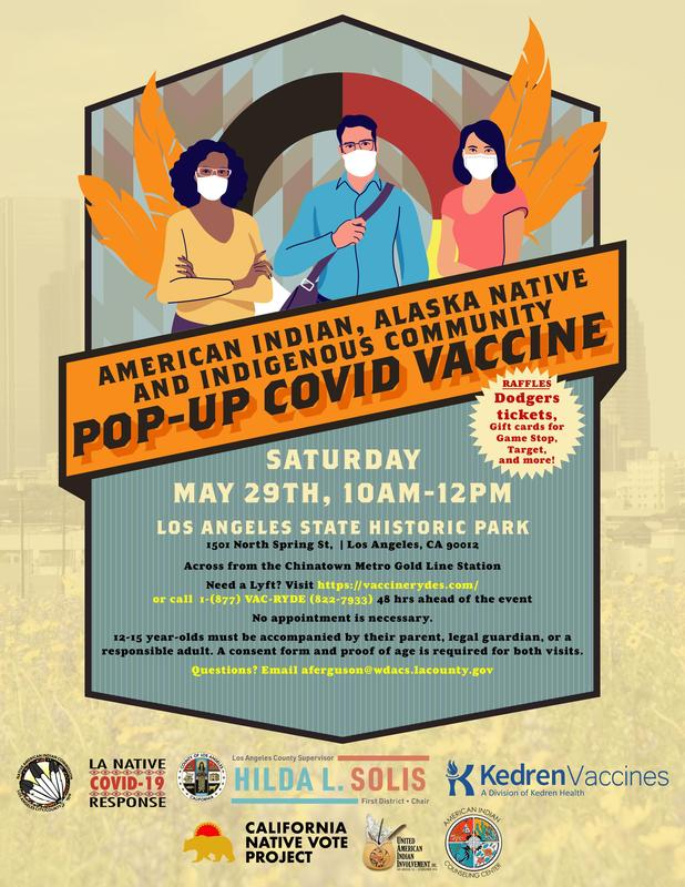 COVID-19 Vaccine Pop-up, Saturday May 29th! Featured Photo