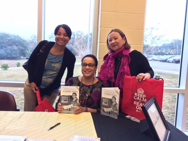 Mrs. Vera and Mrs. McInnis with Author