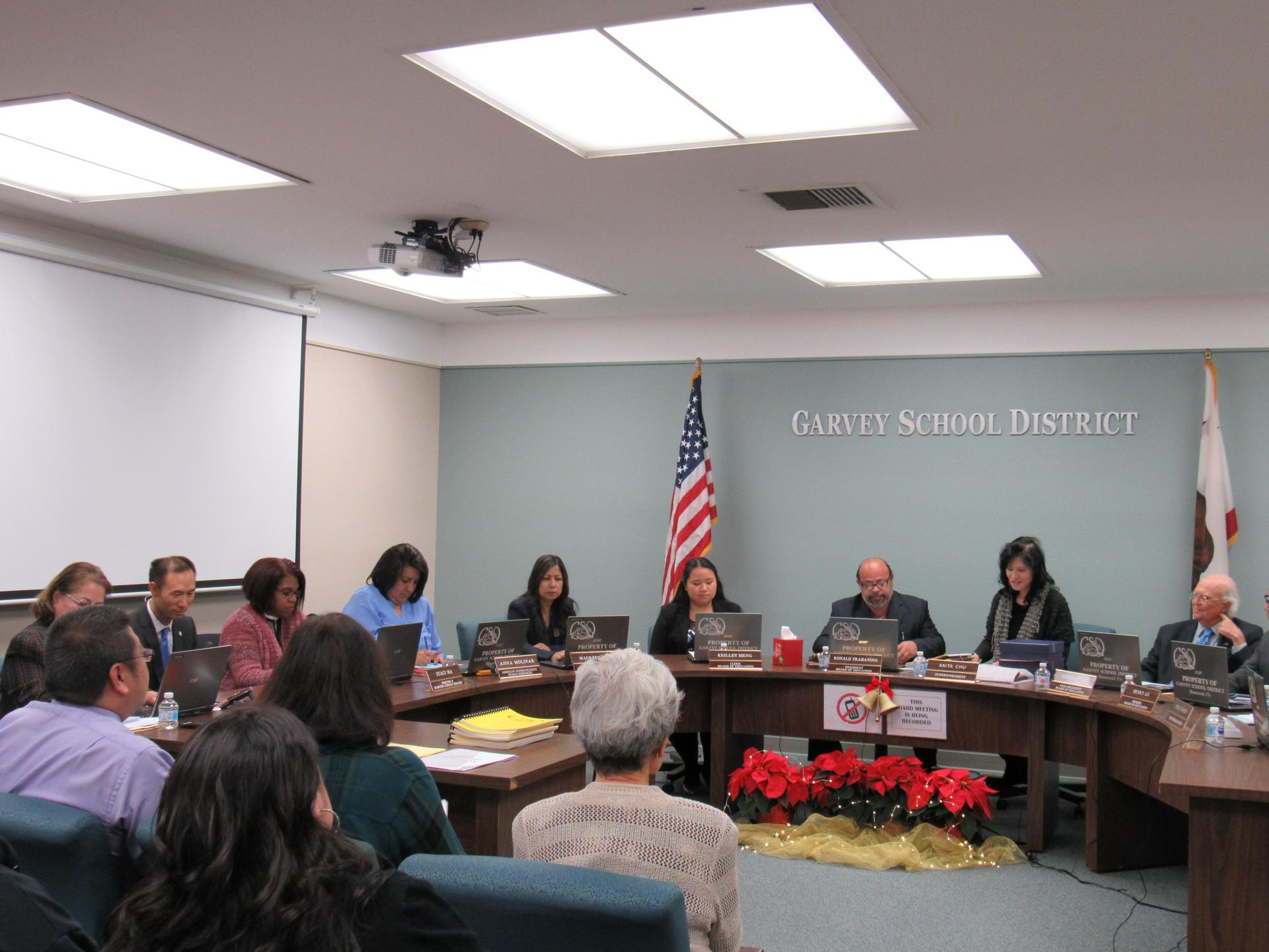 Garvey School District Board Meeting